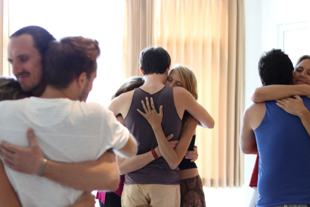 people hugging edited
