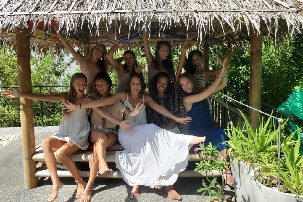 women group photo details